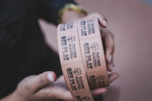 Bespoke Designed and Printed Rolls of Tickets